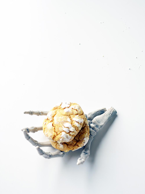 Ali Hedin | Pumpkin Crinkle Cookies