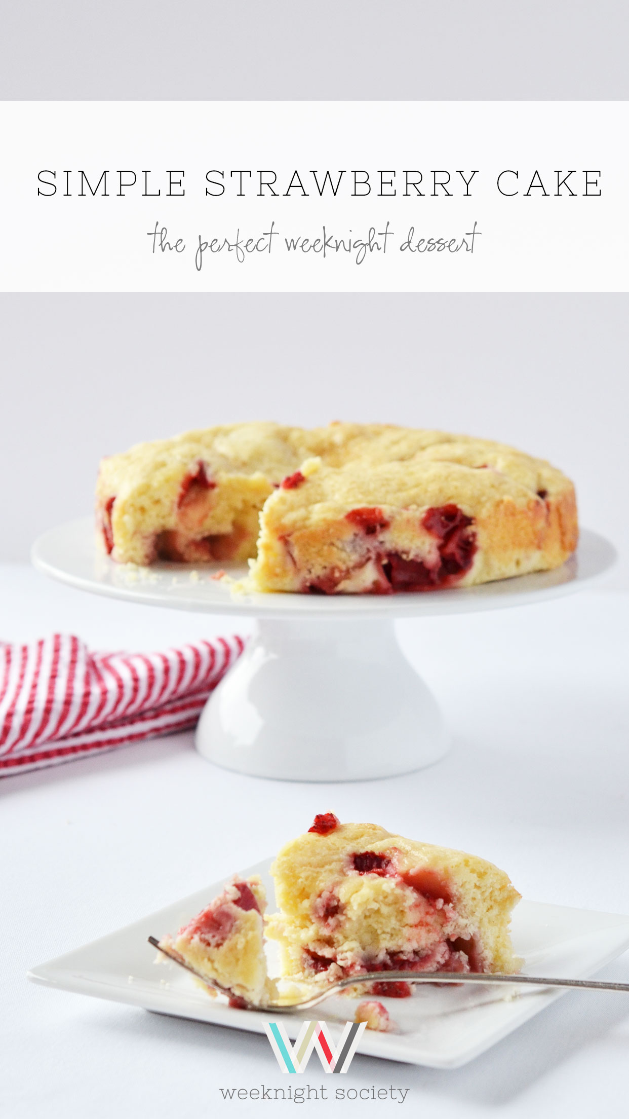 Ali Hedin | Simple Strawberry Cake