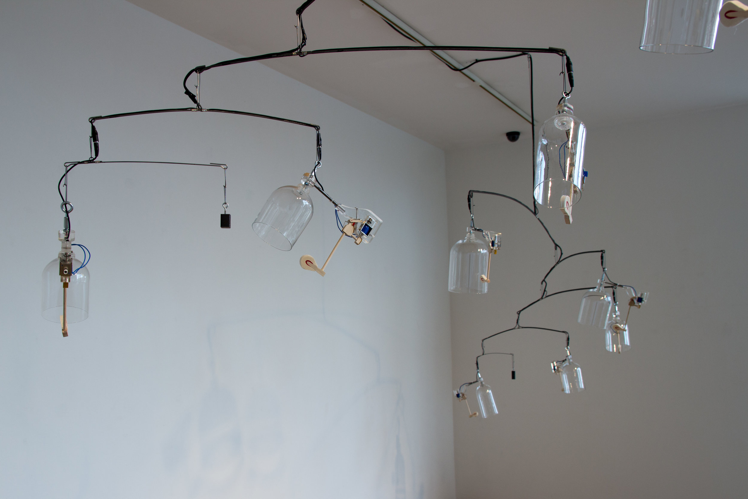 SOLAR PARTICLE WIND CHIME -