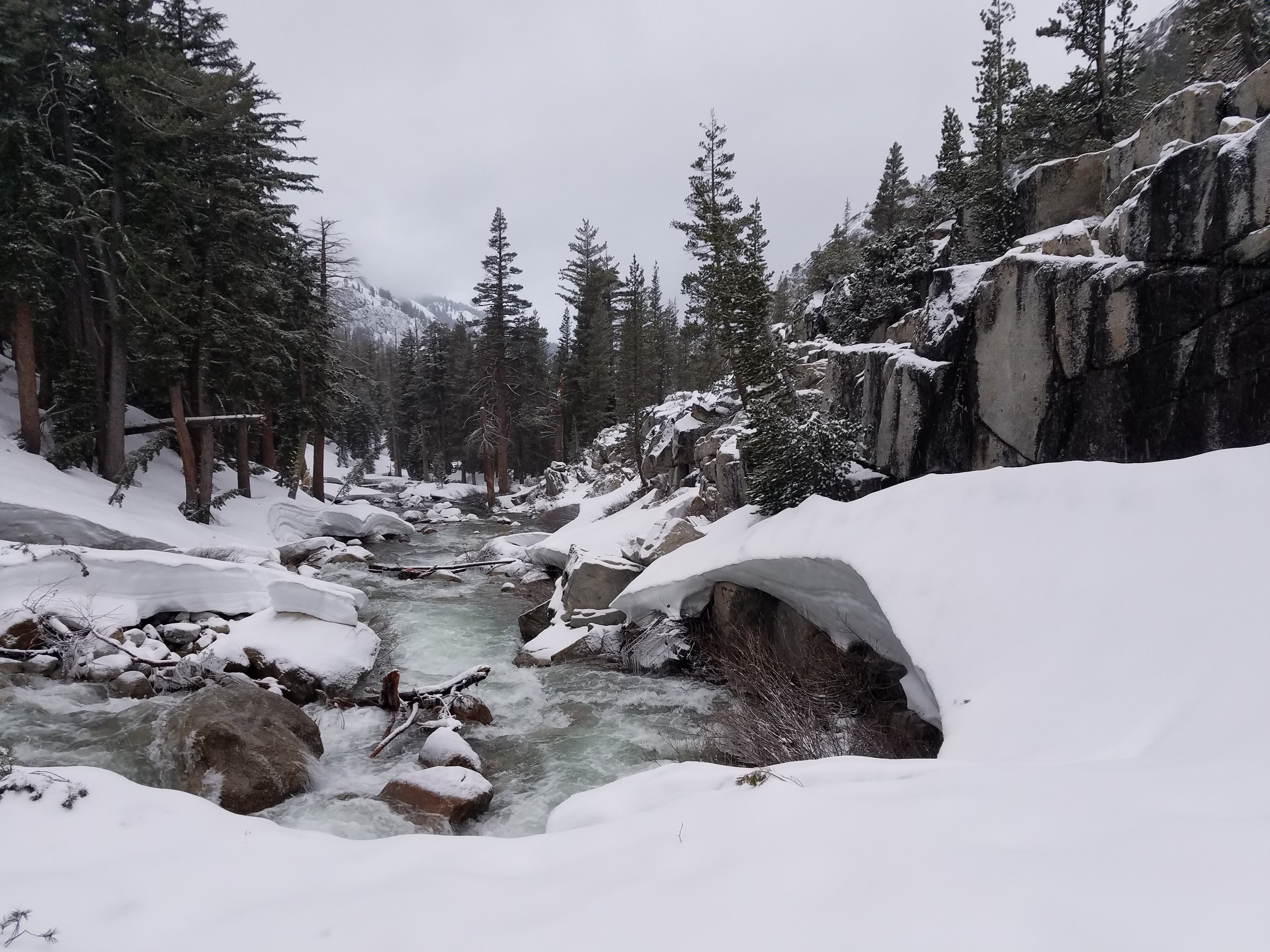 The Trek: - 2017 Sierra High-Water Crossing Advice From Someone Who's Hiked Through