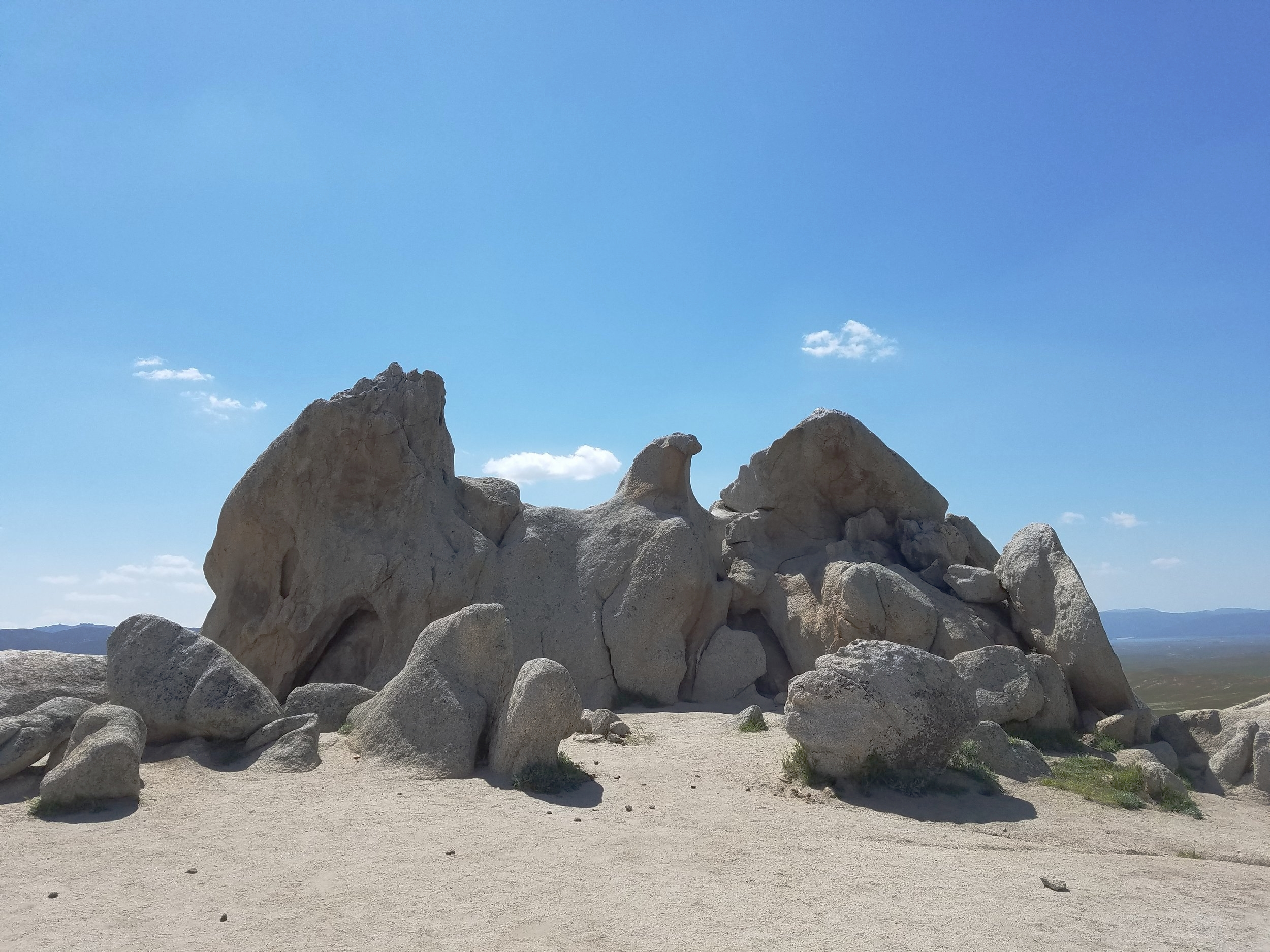 The aptly named, Eagle Rock.