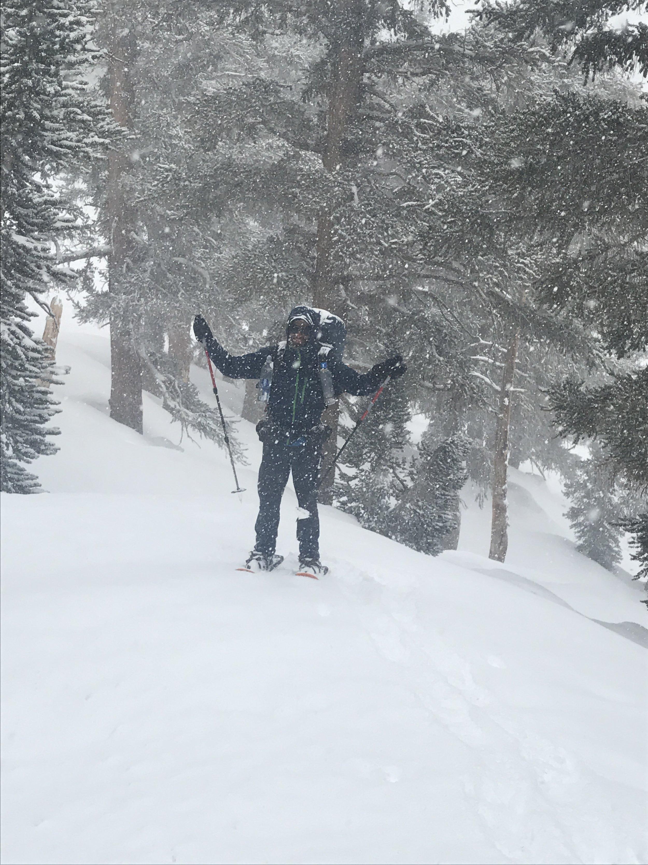 Sometimes, you get snowed on.
