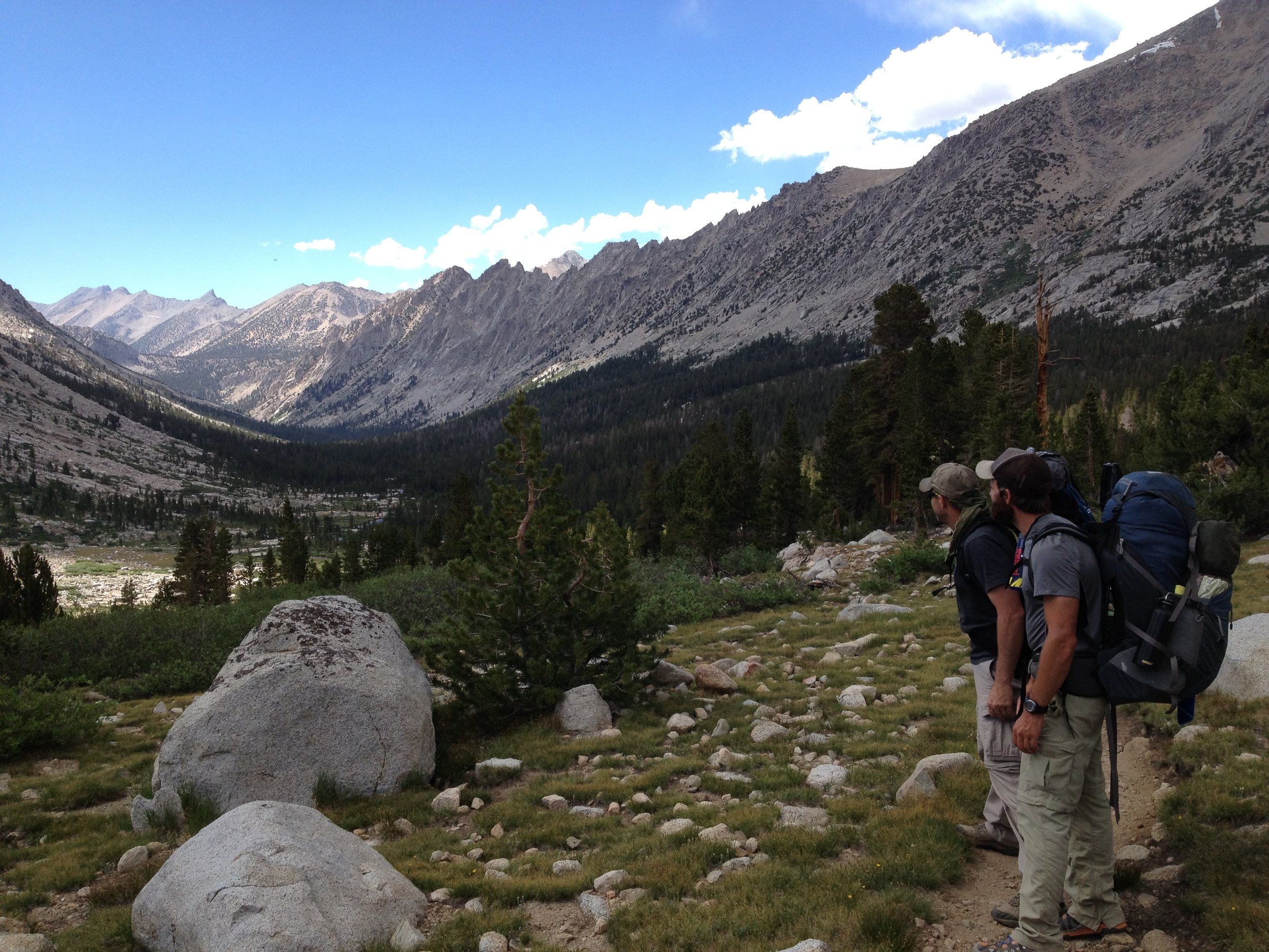 Looking back on Bubbs Creek, June 2014.