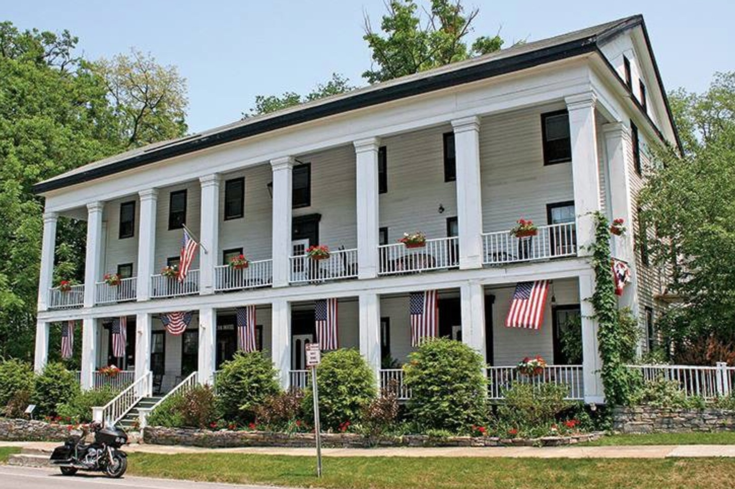 THE AMERICAN HOTEL  192 Main Street Sharon Springs, NY 13459   Click here to book a room   Distance: 30 mins / 24 miles  Capacity: 18 people