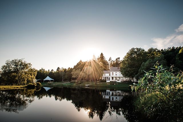 Our beautiful farm, nestled in the Catskills and surrounded by lakes, forest, and peaceful vibes for your wedding day. Thank you @kalzphotography