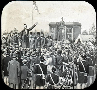 Photo of Abe Lincoln for Personal Defense Connection's Resolve that These Dead shall not have died in vain!