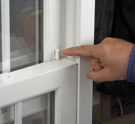 Photo of window lock for Personal Defense Connection's No Stranger gets in your home