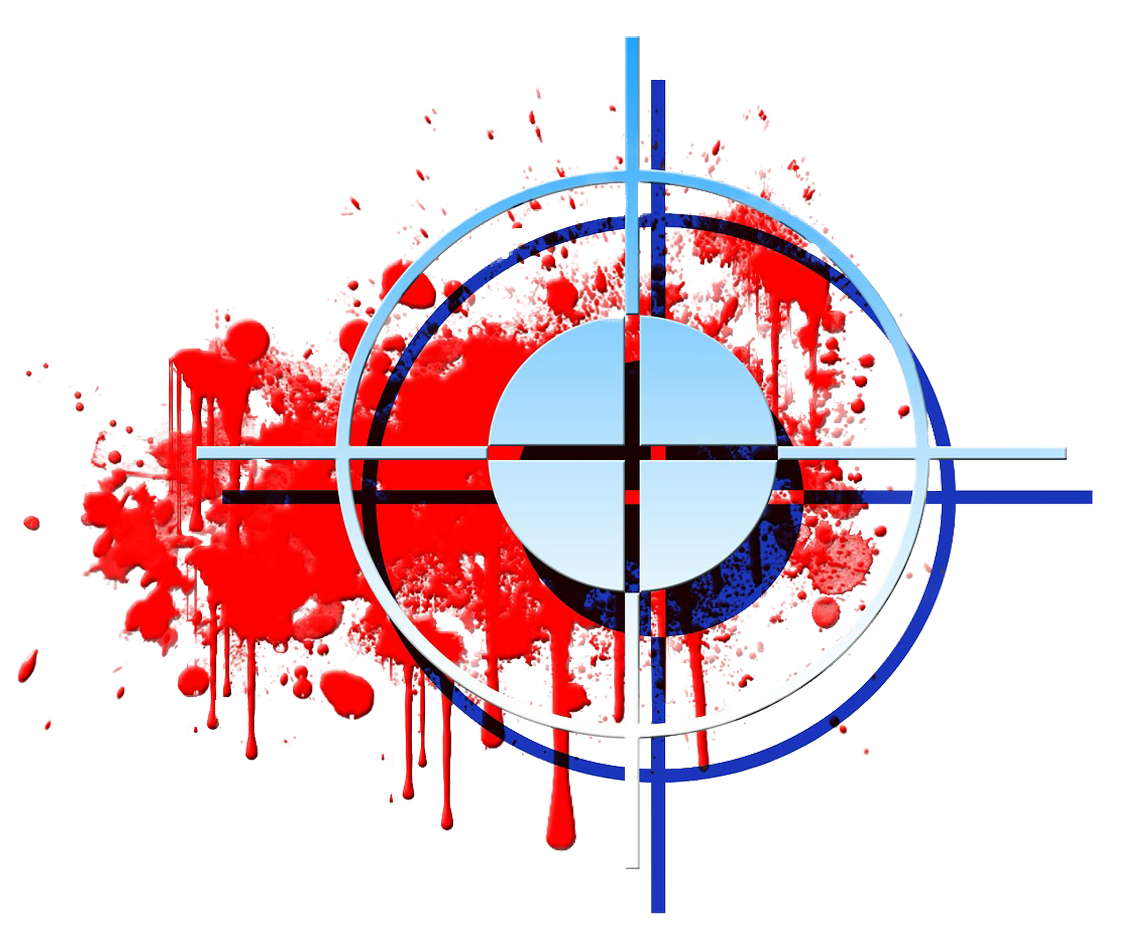 bloody target photo for Personal Defense Connection's Don't be a Target post