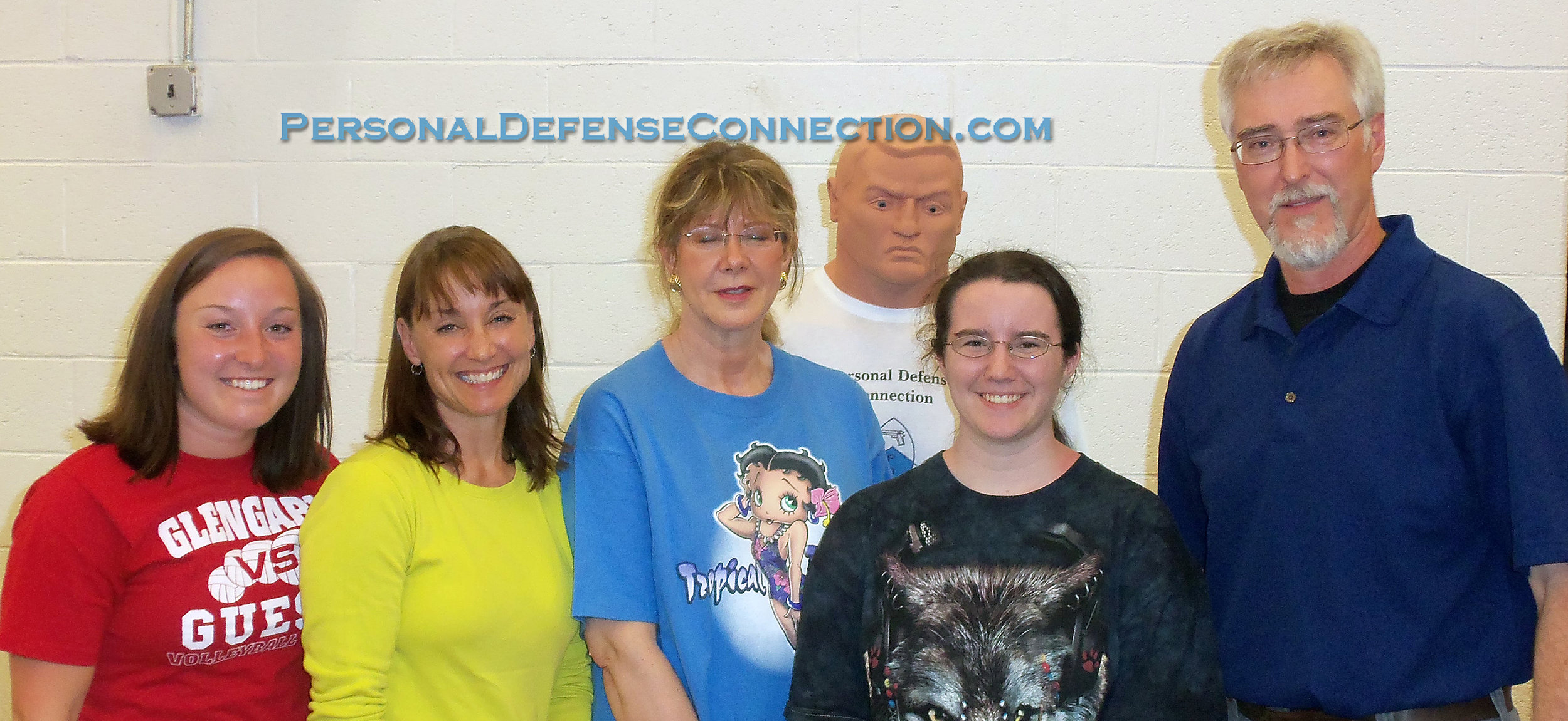 A Happy Group of Class Participants. Personal Defense Connection