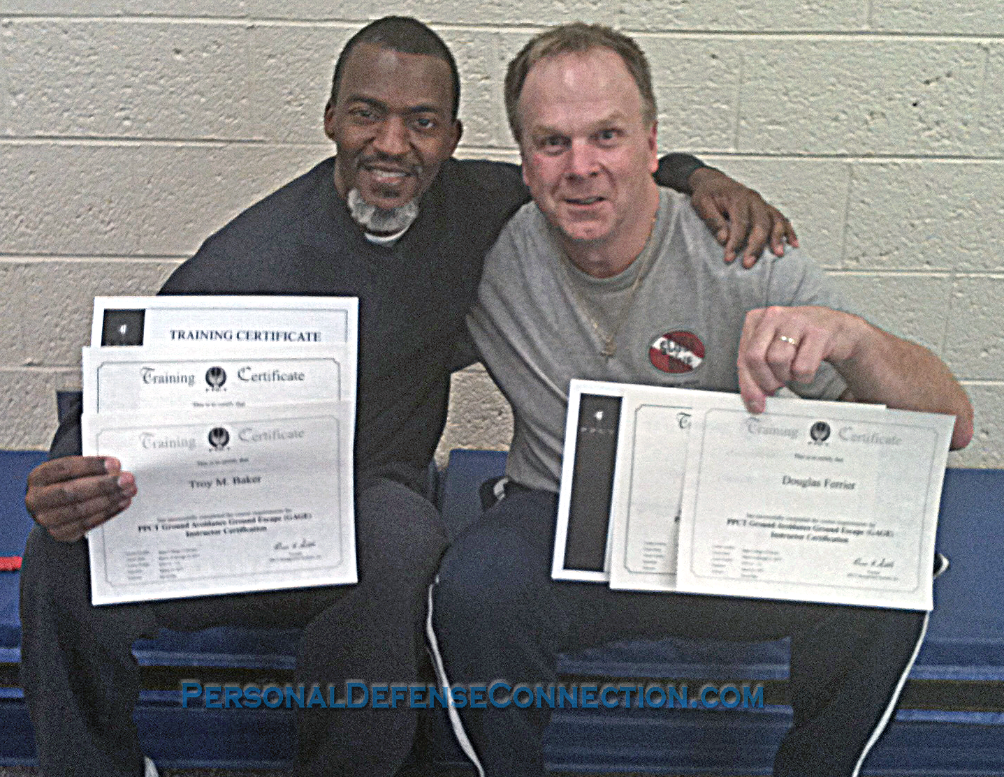 Happy graduates from one of our PPCT classes.