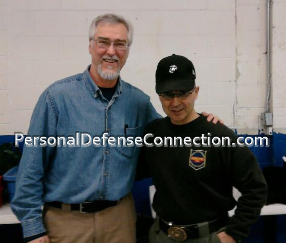 Dave with Lou Chiodo of Gunfighters Ltd.