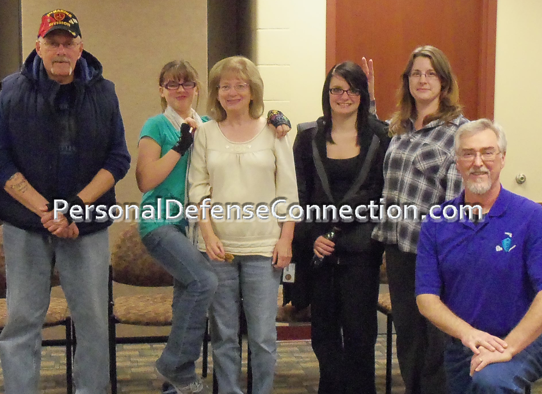 Our very first Self Defense Class. Hamburg Township Library.