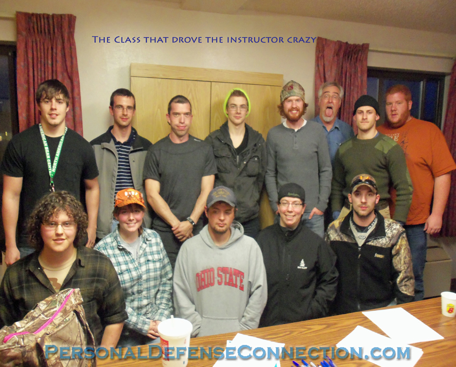 Michigan CPL Class graduates. This class broke our instructor, lol. He finally went crazy...