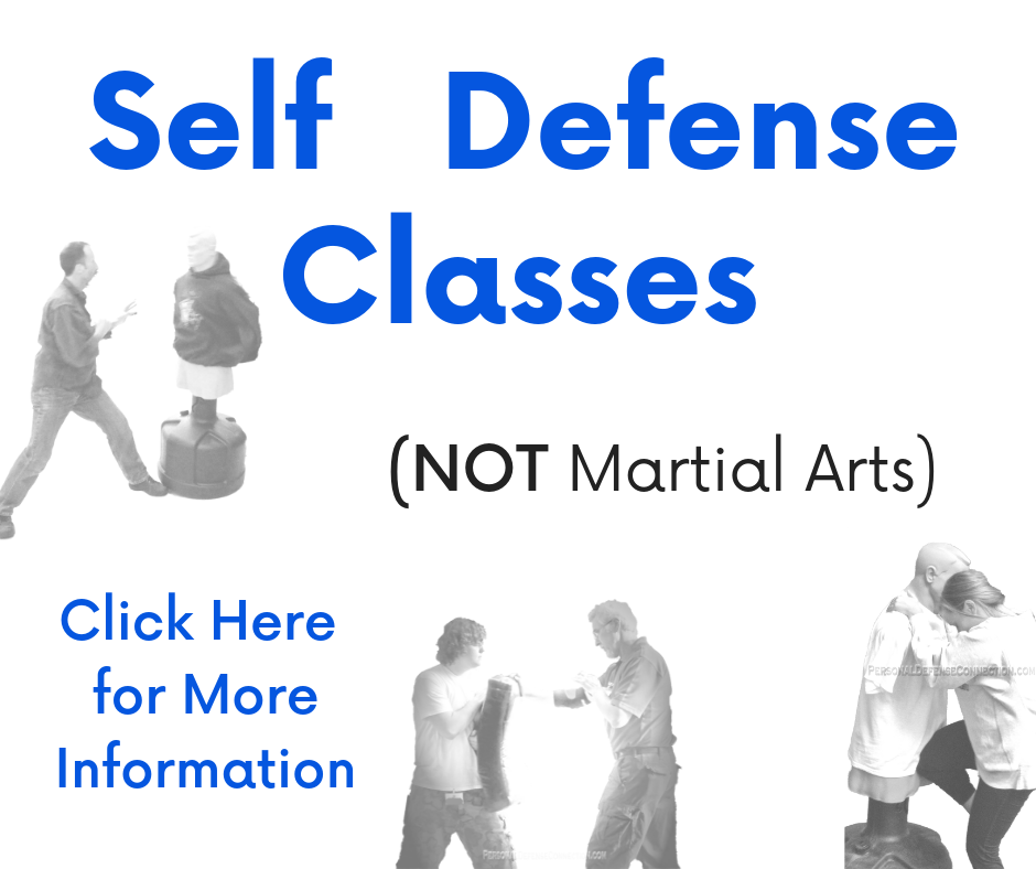 Self Defense Classes (non martial arts) Link Box to go to Self Defense Classes page.