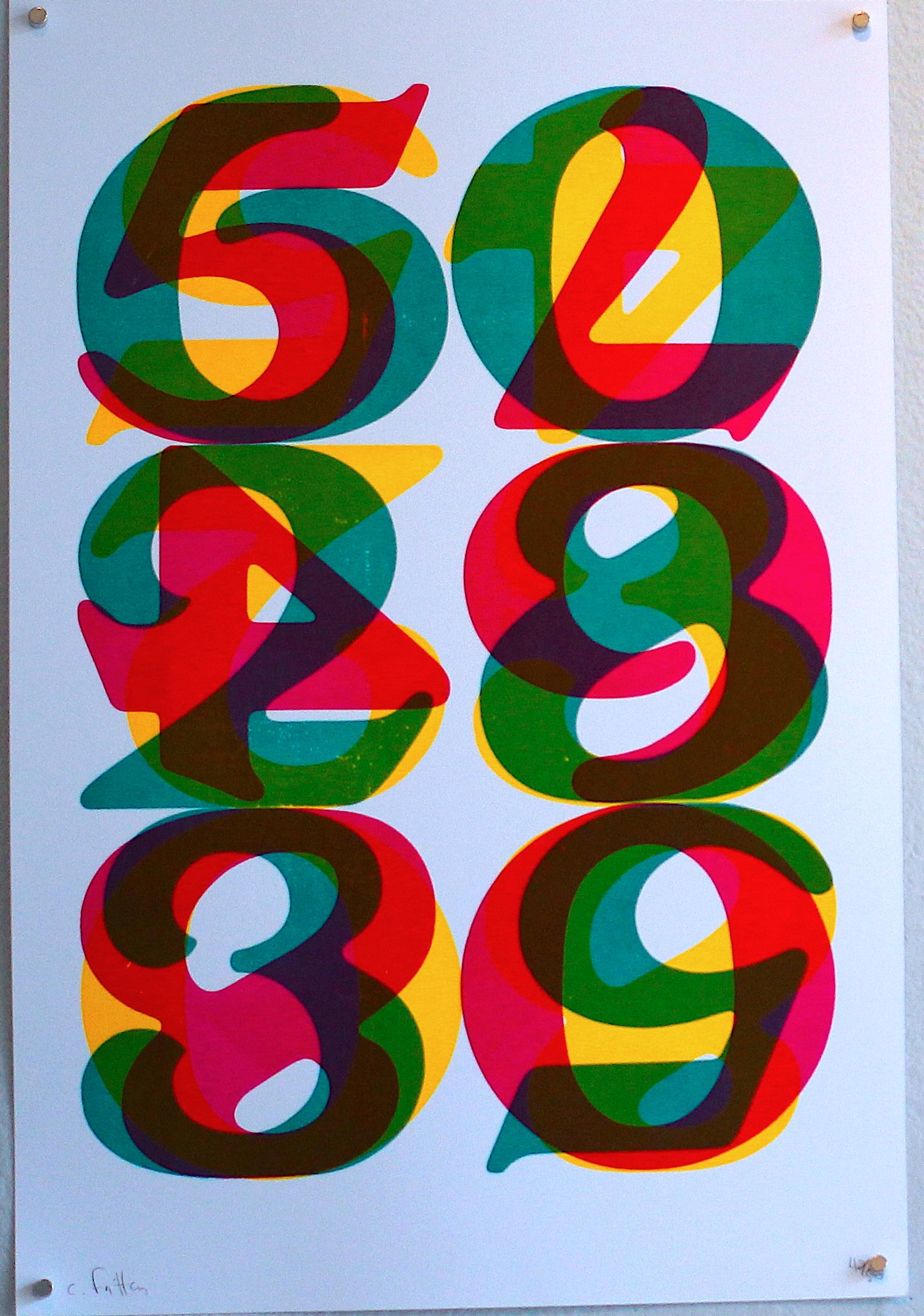CHRIS FRITTON, VISPO NUMERALS