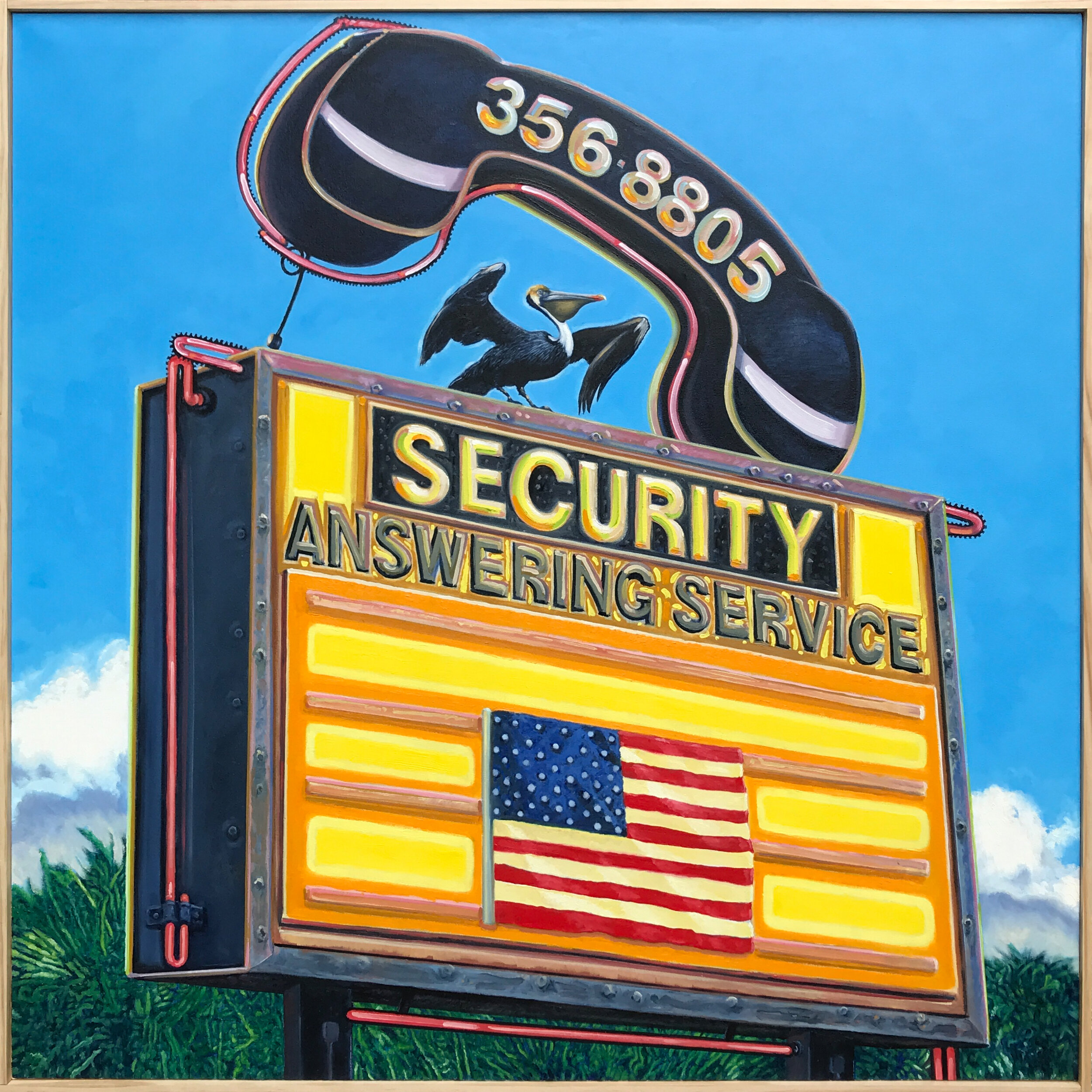 Security_Answering_Service_48in_x_48in_OilOnCanvas.JPG