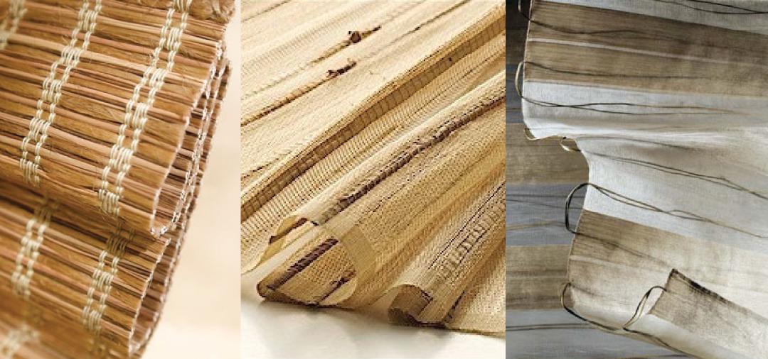 Natural Woven Wooden Shades