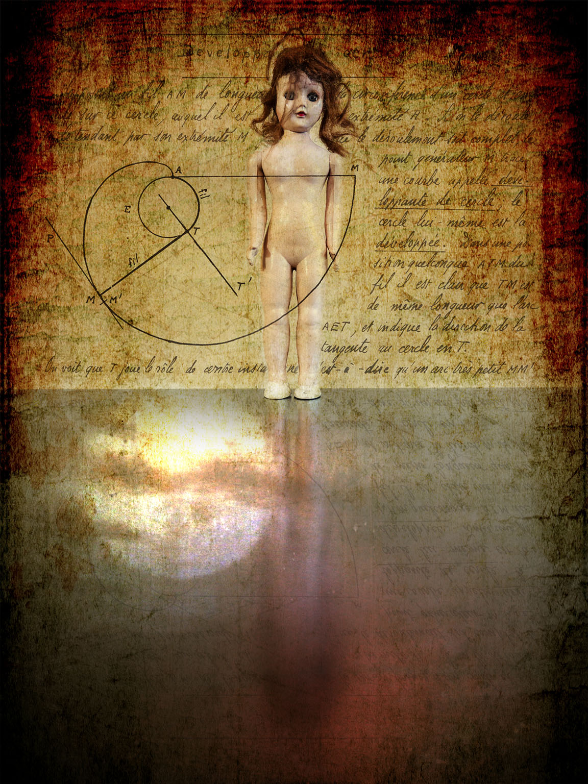 Melinda Isachsen JANIS Photography & Fine Art Doll Geometry Reflections