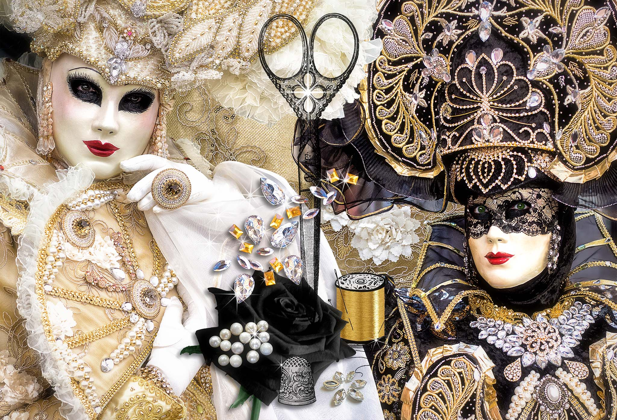 Melinda Isachsen JANIS Photography & Fine Art Solange Merentier costume Venice Carnival