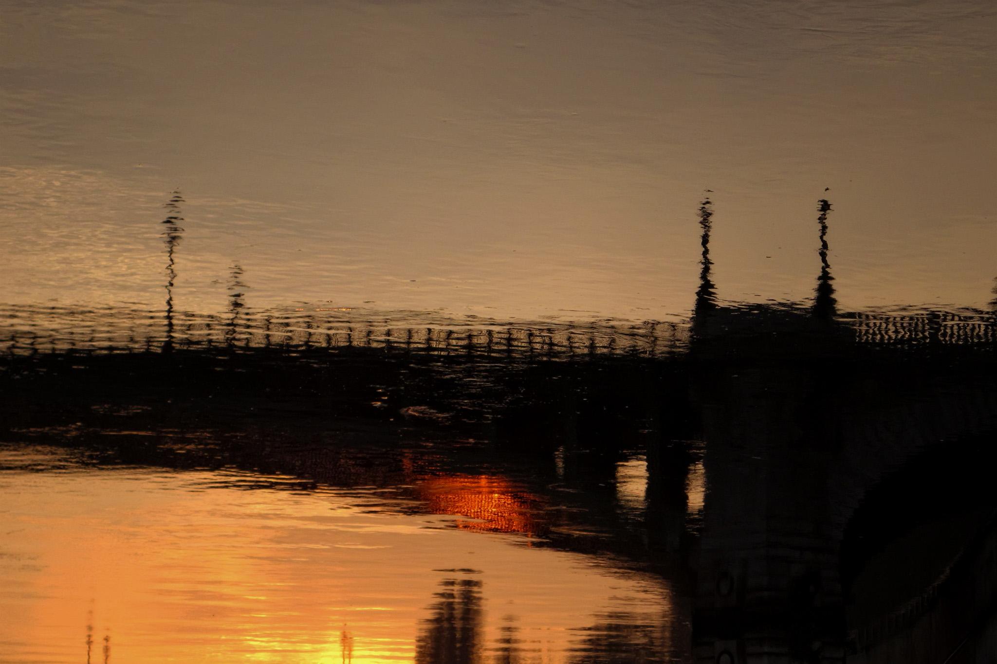 Melinda Isachsen JANIS Photography & Fine Art sunrise reflection Paris France