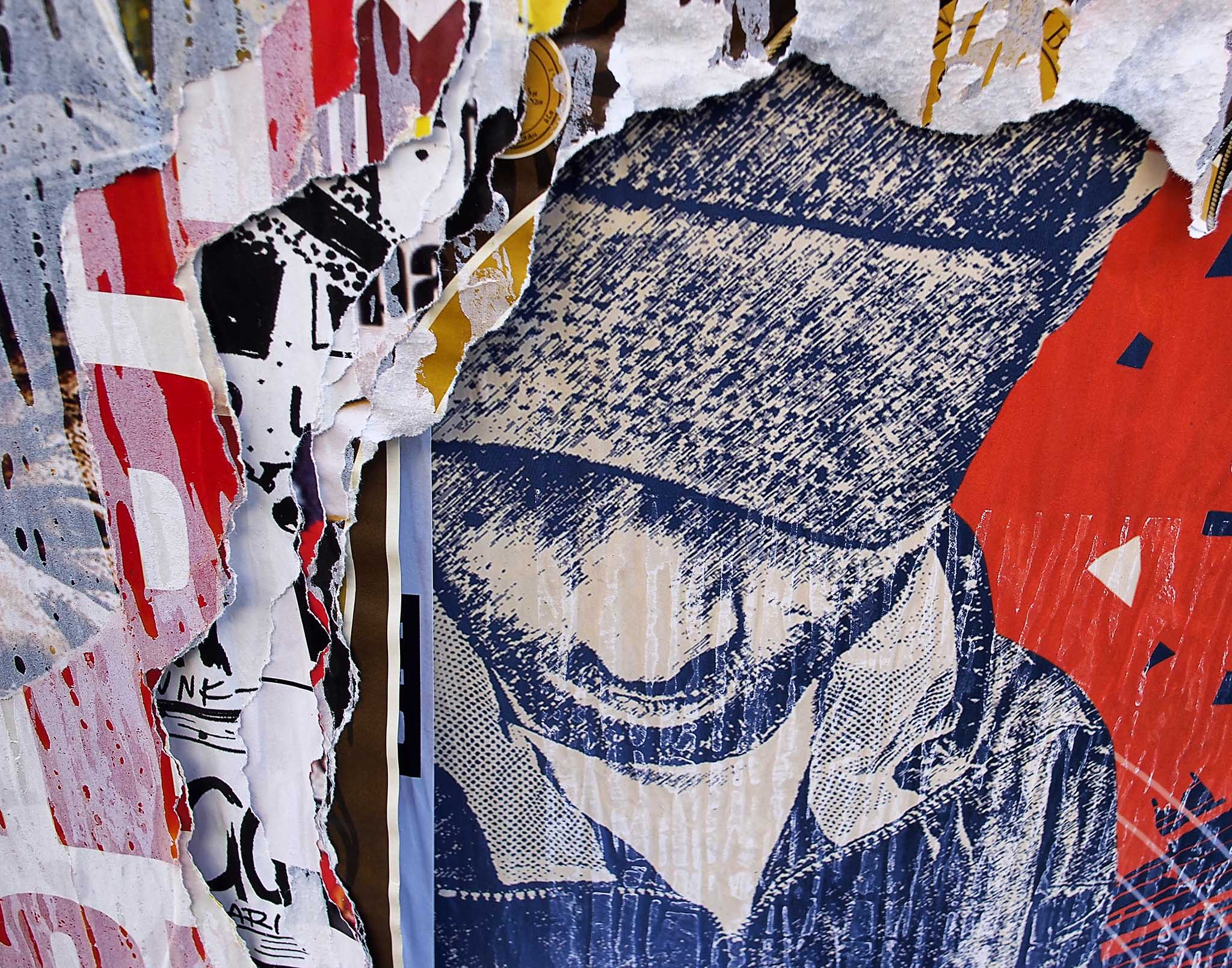 Melinda Isachsen JANIS Photography & Fine Art TORN street posters by Jan Isachsen
