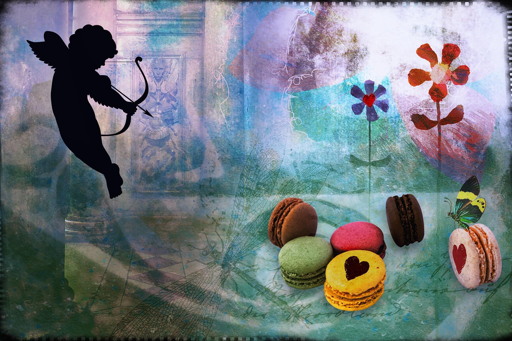 Melinda Isachsen JANIS Photography & Fine Art Valentine Cupid Macarons
