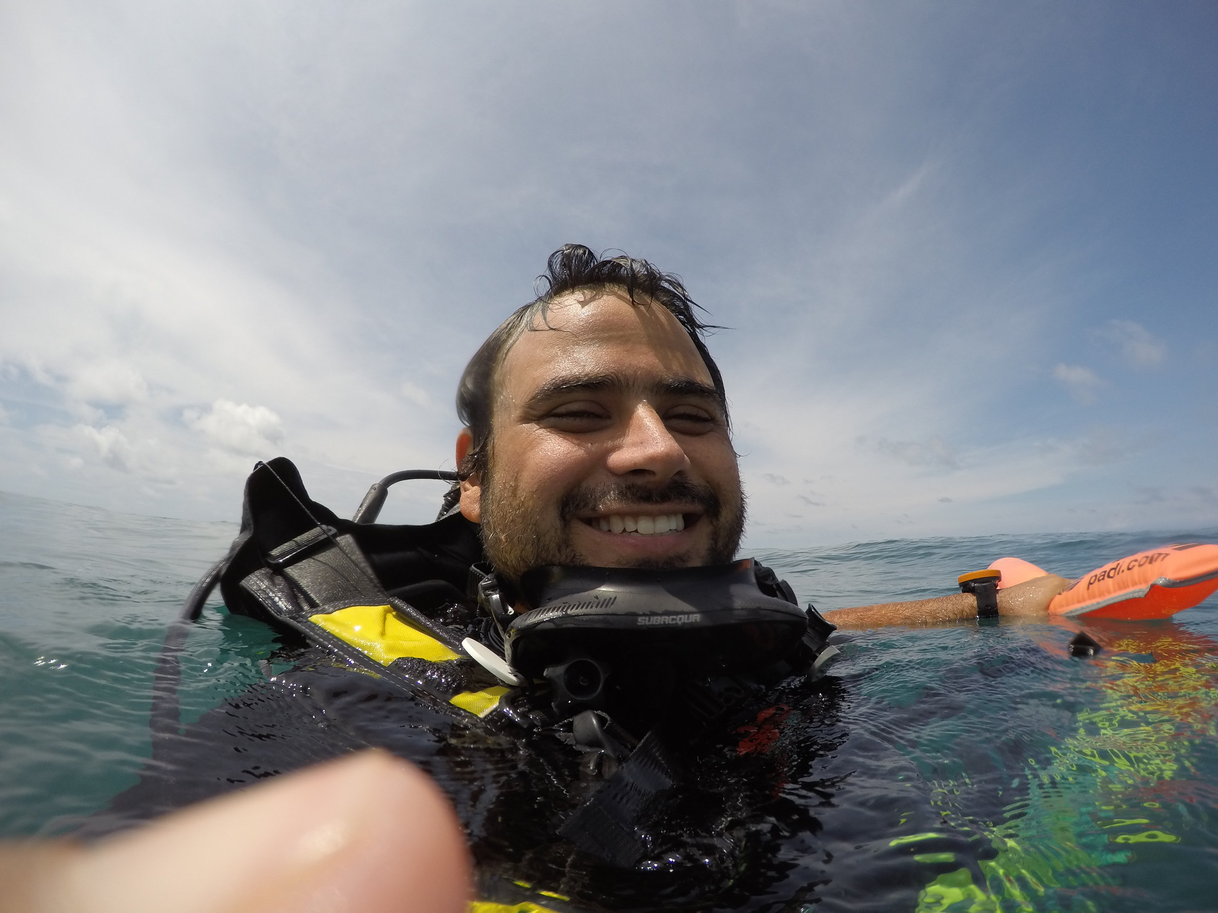 Juan Pinto - Juan is our conservation leader and pretty much does everything at Iguana Divers. He has an innate interest in biodiversity and ecology, and naturally gravitates towards opportunities to get involved with initiatives to help understand and protect the rich ecosystems we have the privilege to be surrounded by. Whenever we have a question about wildlife we go to him! PADI Pro #408515