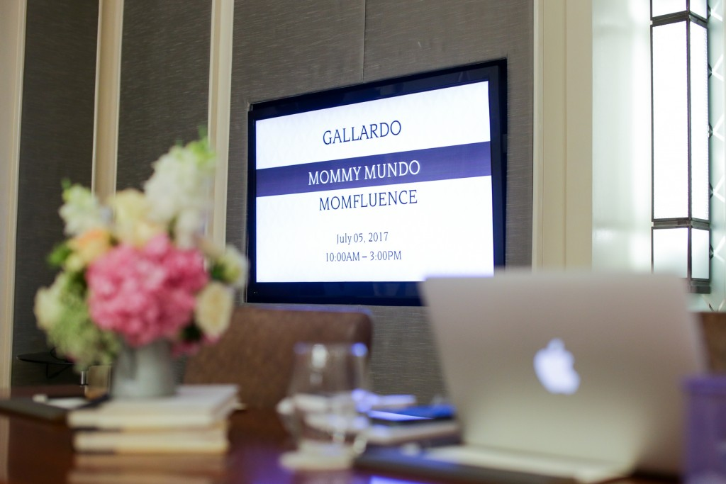 The launch of the Momfluence Network was held at the Makati Diamond Residences