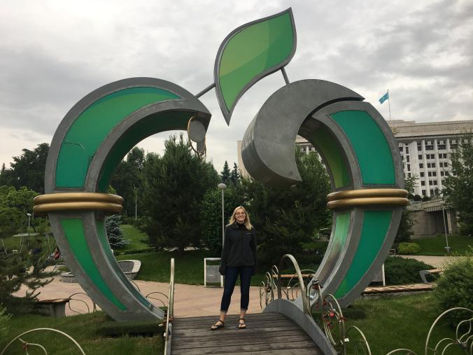 Walking around Almaty