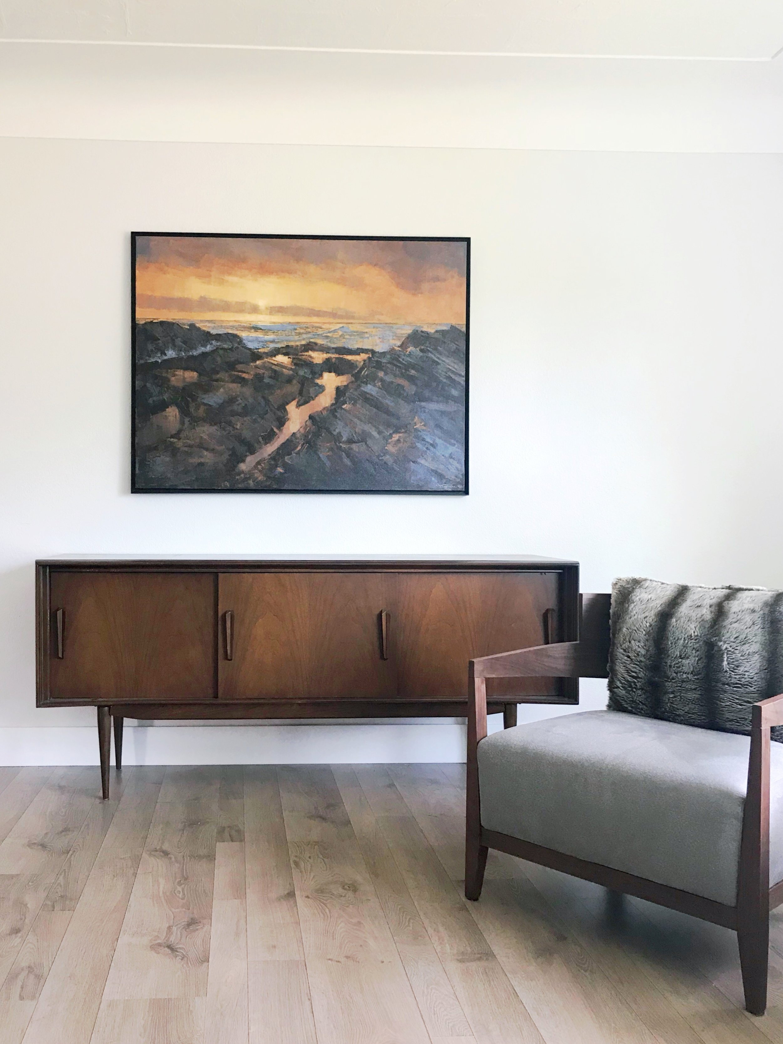 Good Morning, installed in a private residence, Vancouver