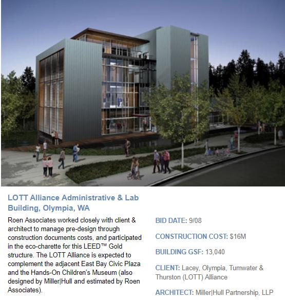 LOTT Alliance Administrative & Lab Building