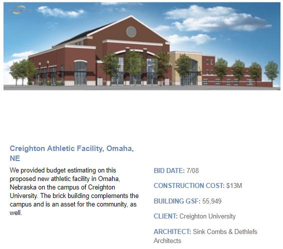 Creighton Athletic Facility