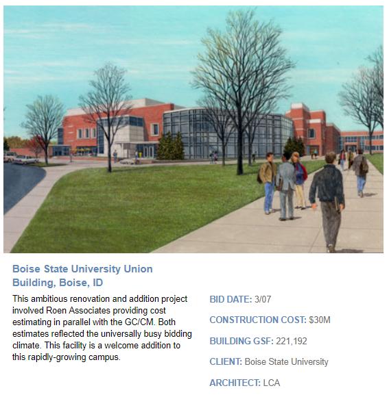 Boise State University Union Building