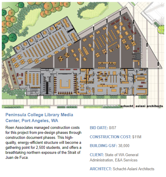 Peninsula College Library Media Center