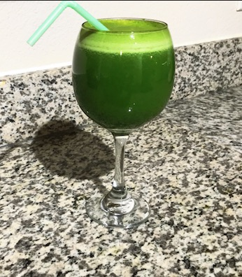 "Green ""Health is Wealth"" Juice... healthy & tasty!"