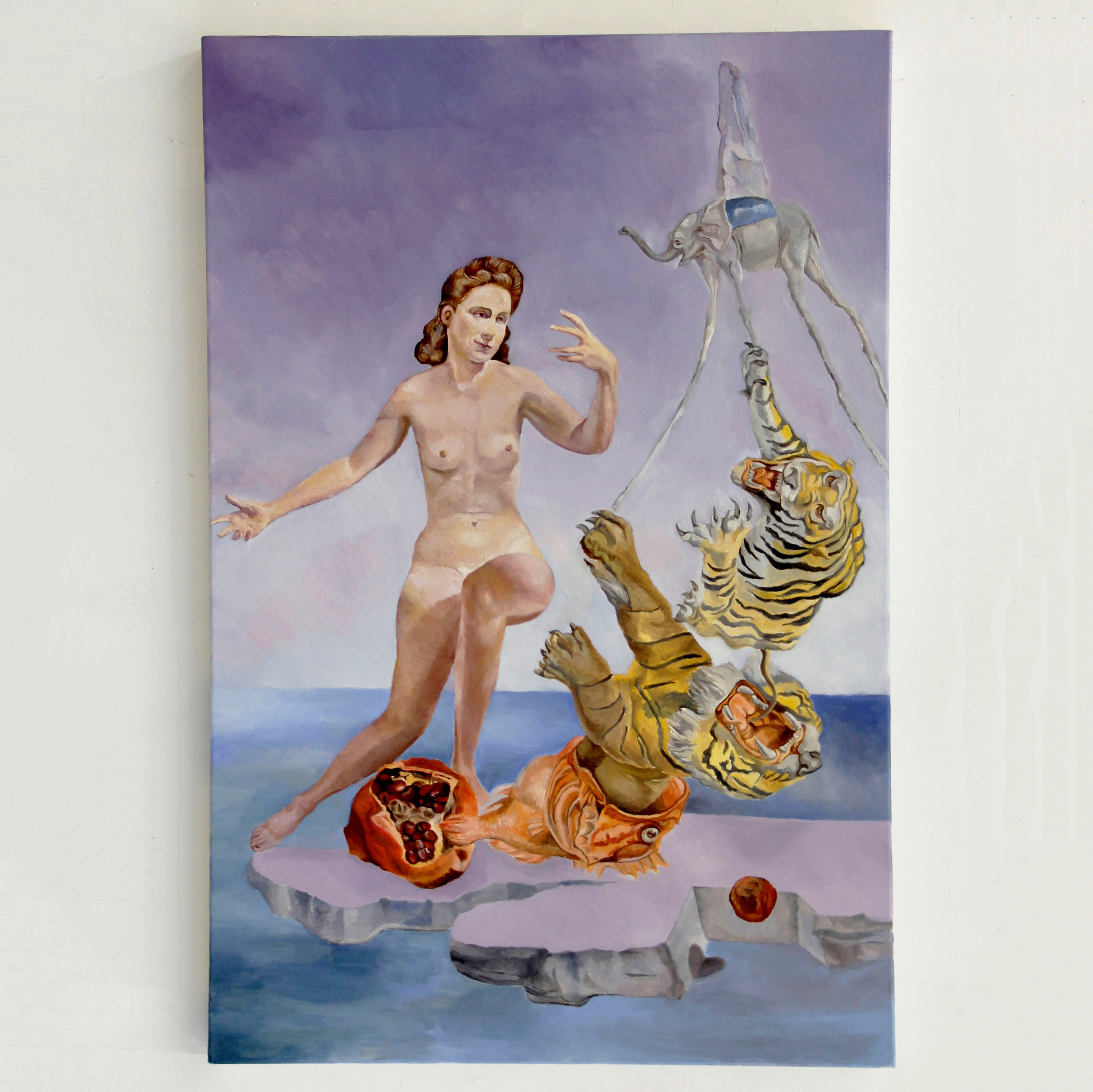 Dream Caused by Feminine Power of Gala Around a Pomegranate a Second Before Being Attacked | 芸術作品