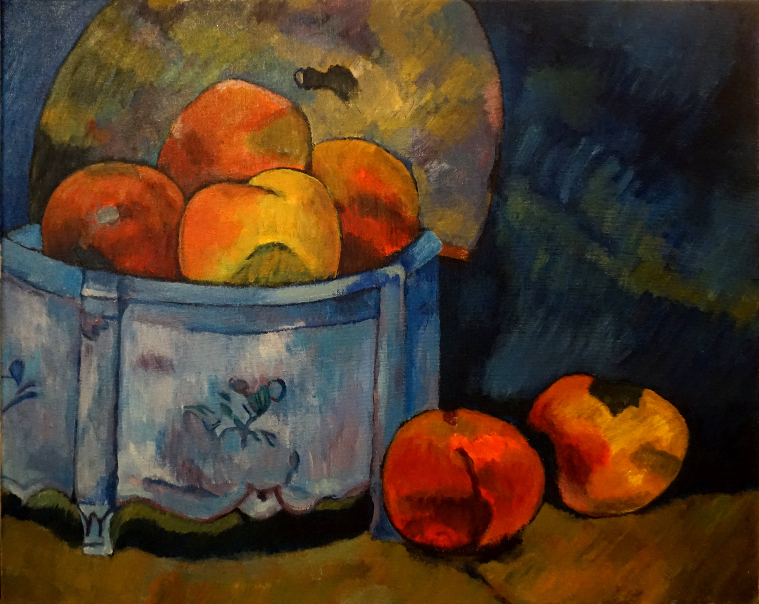 IMITATION OF GAUGUIN'S STILL LIFE WITH PEACHES | 芸術作品