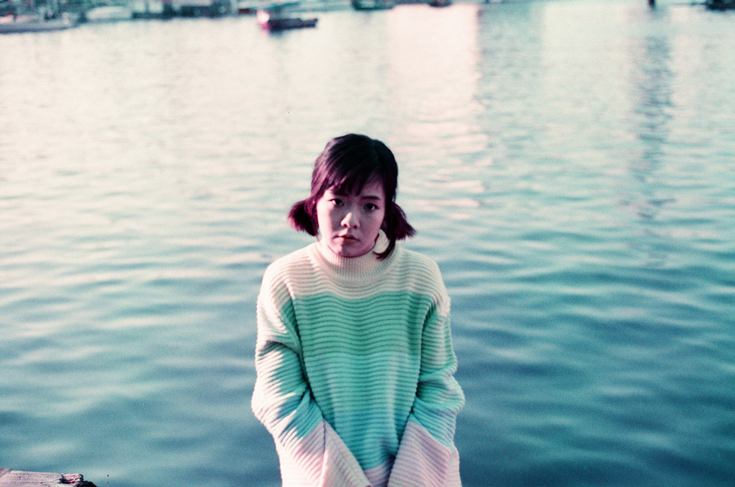 赤、黄、緑、青、紫 | NIKONOYUMEE ニコの写真