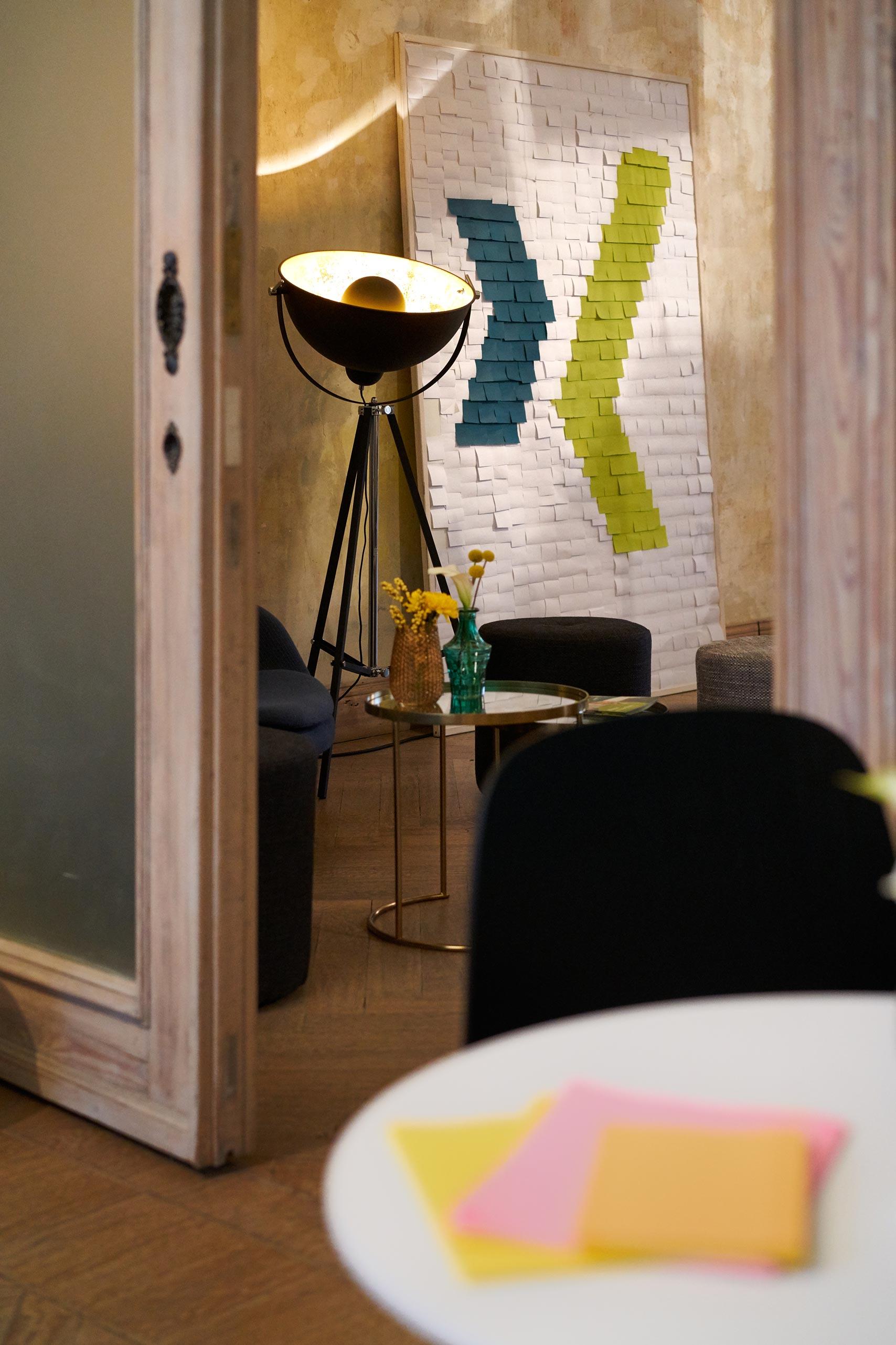 Innenarchitekturfotografie in einer Villa für die Xing AG