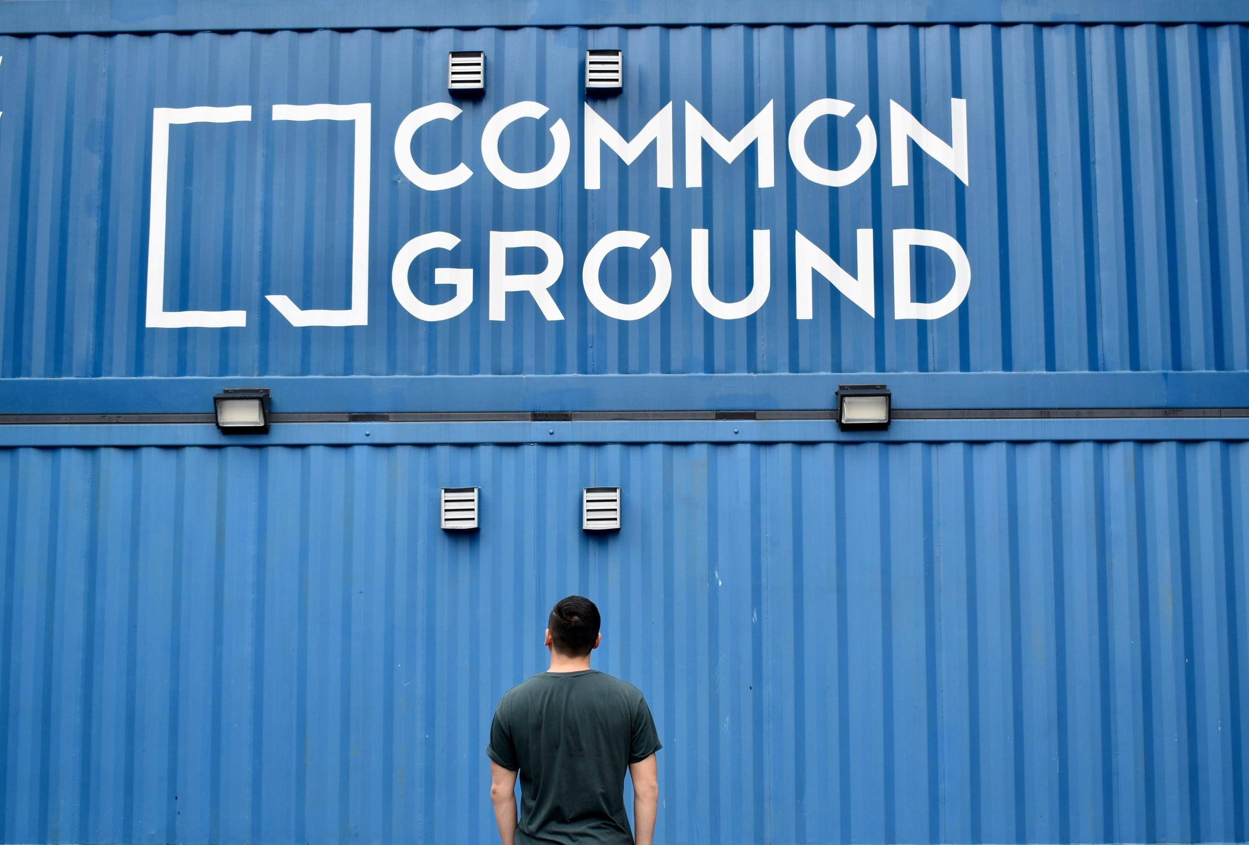 Infamous Commonground shipping containers