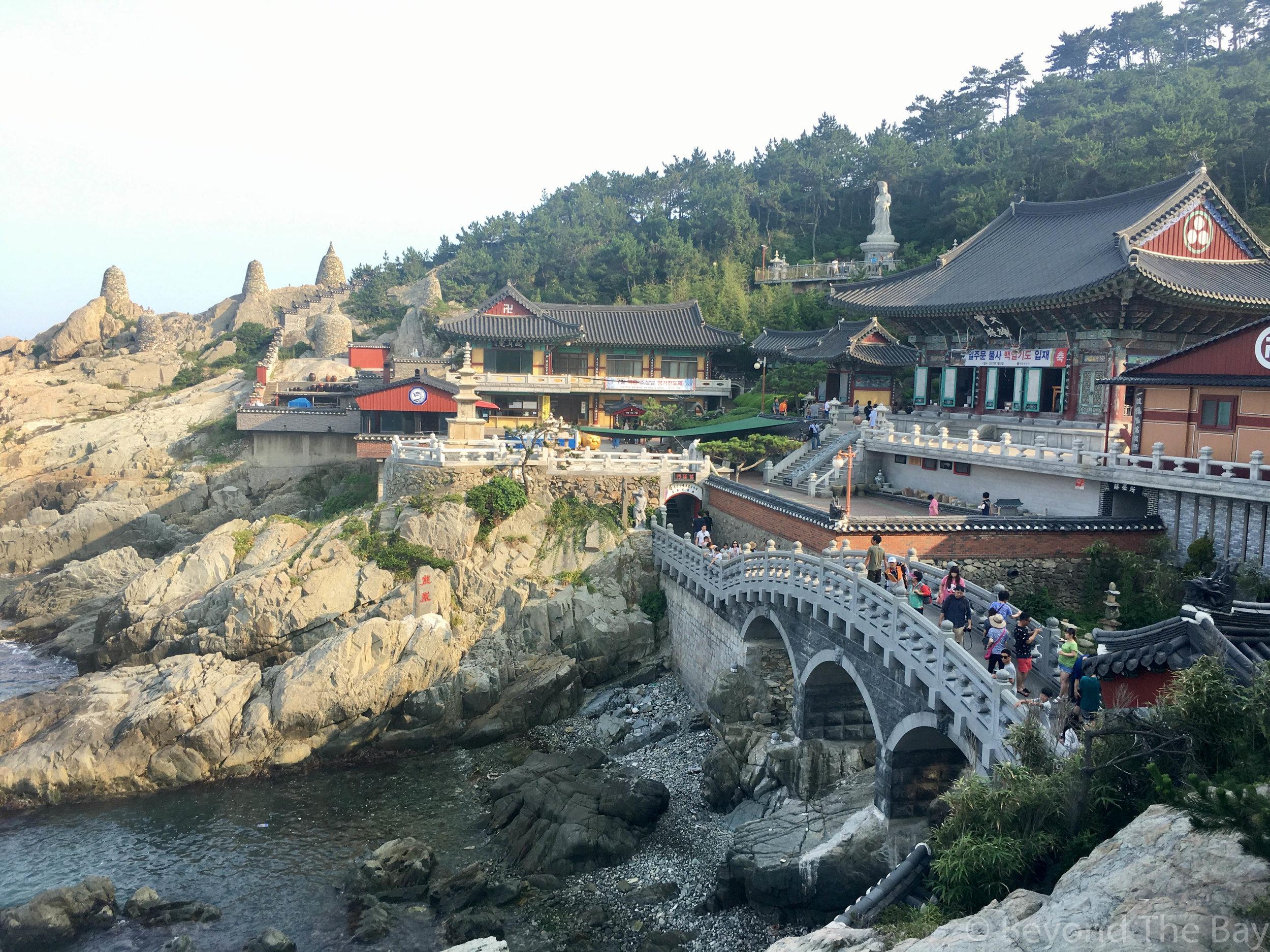 Haedong Yonggungsa Temple bridge
