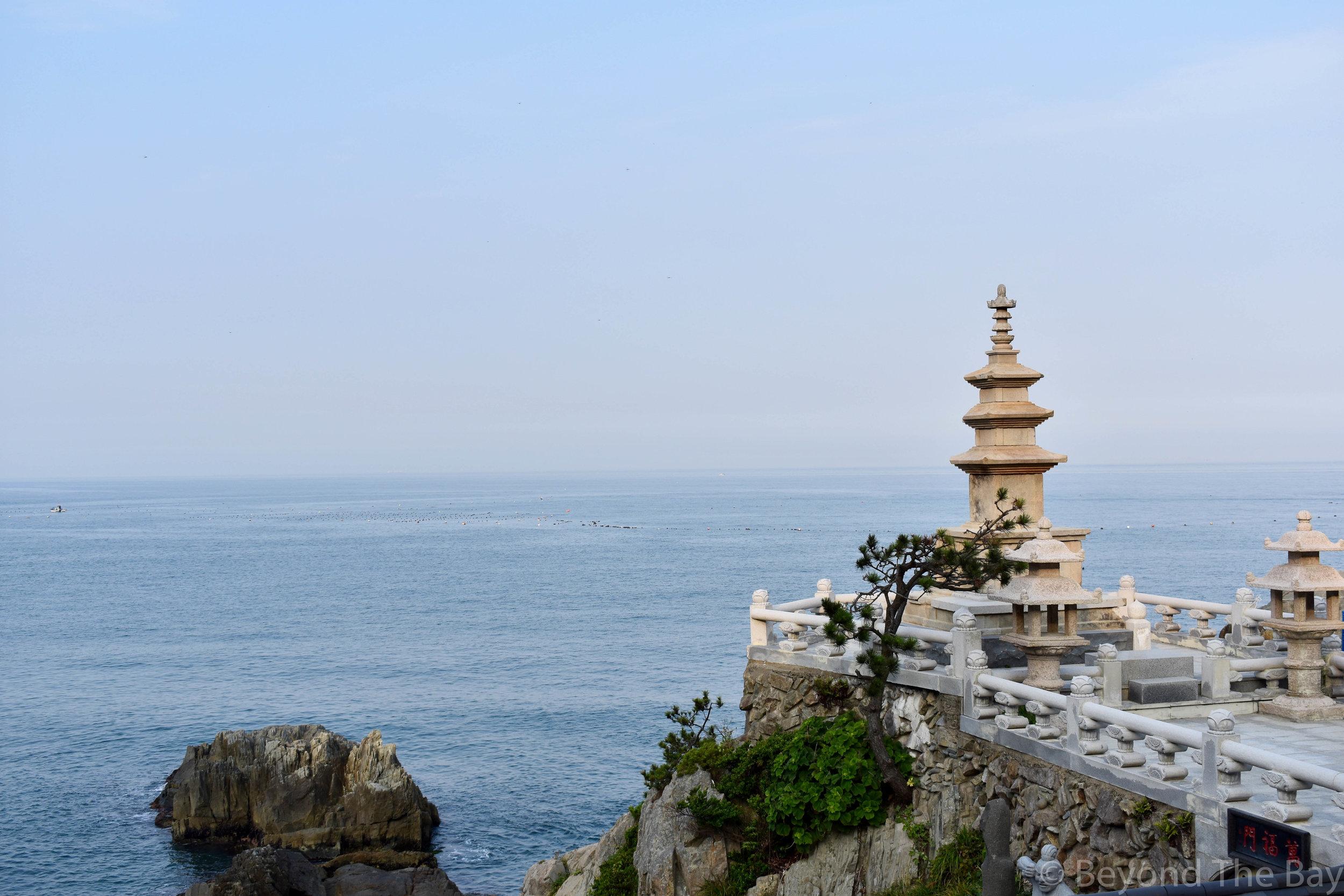 Haedong Yonggunsa Temple View