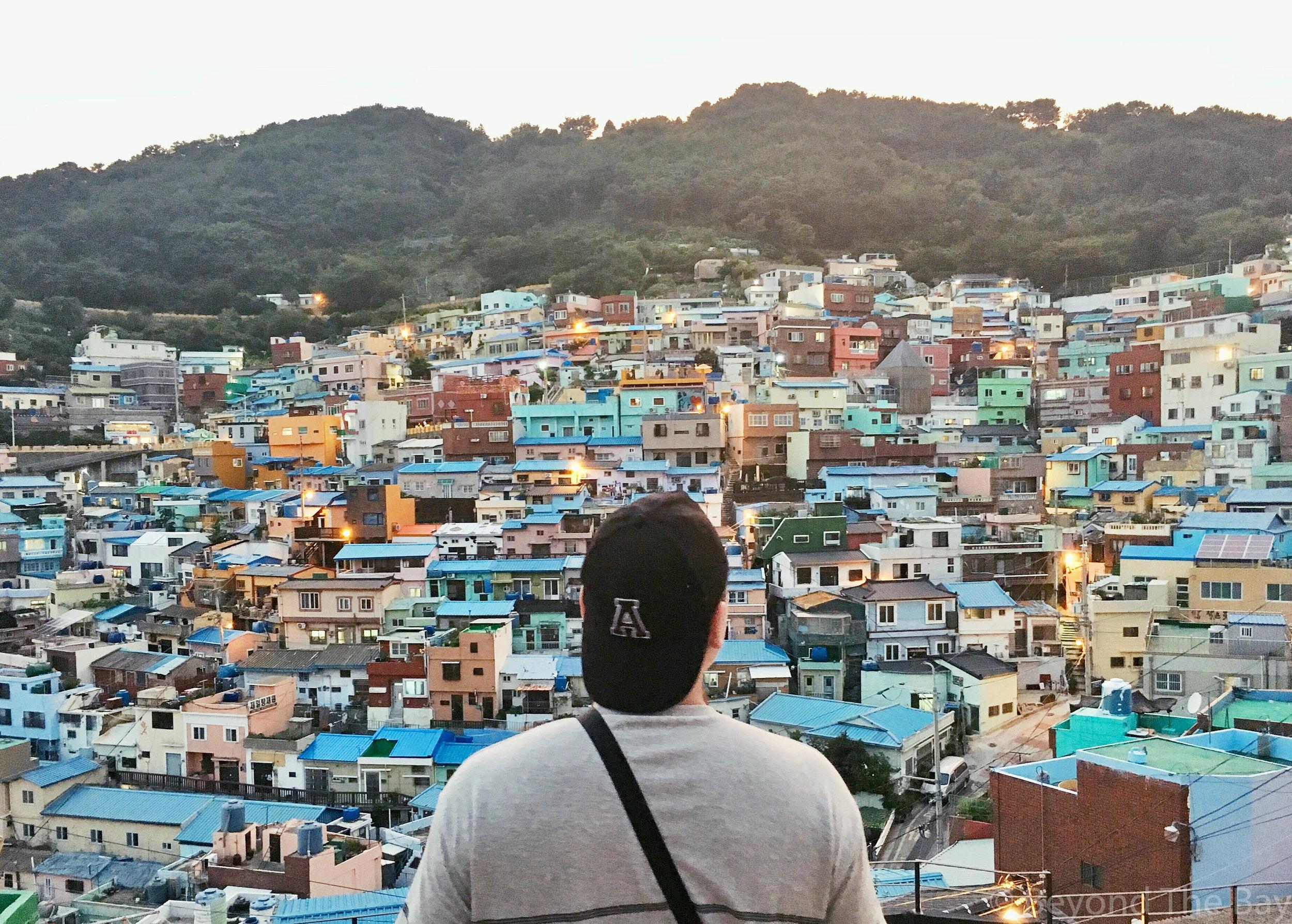 Gamcheon Cultural village view