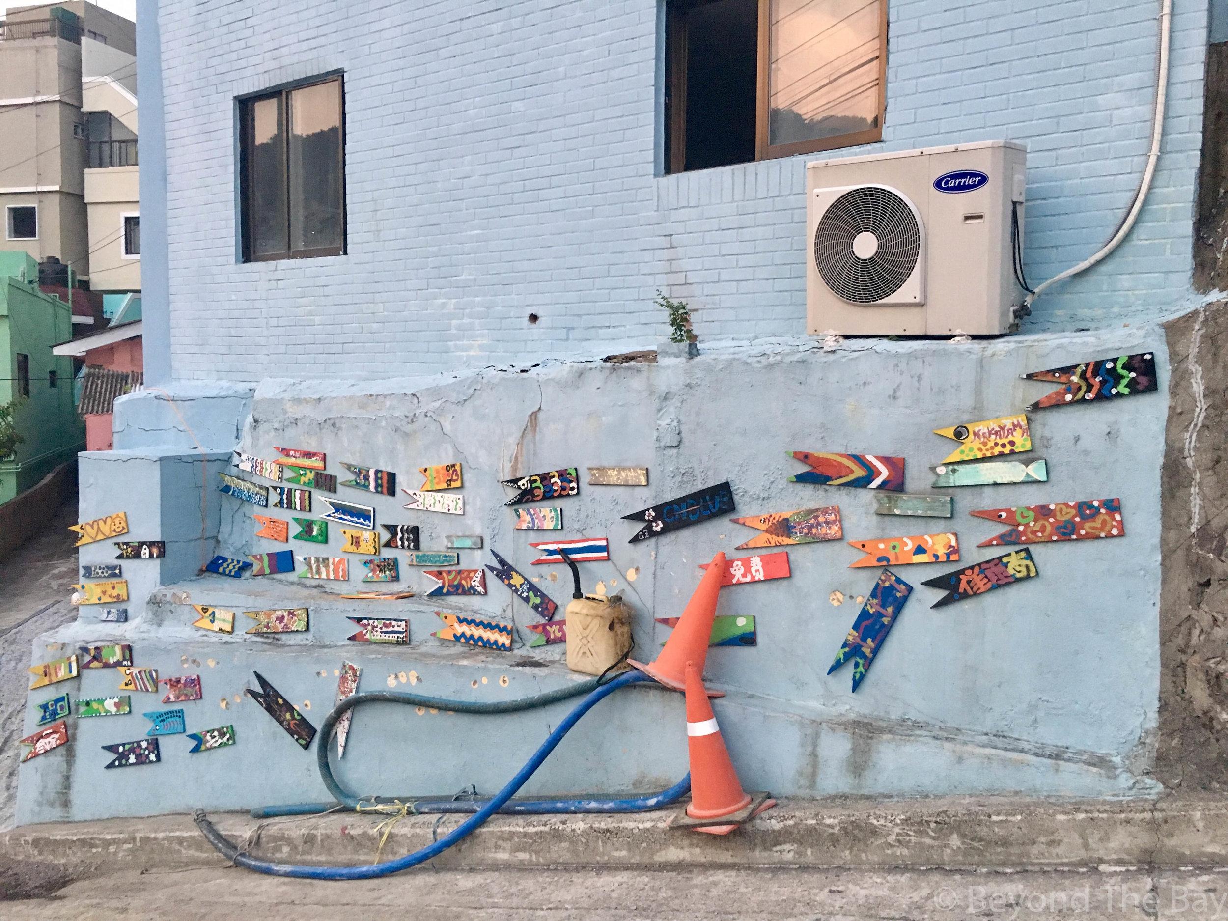More artwork around the cultural village