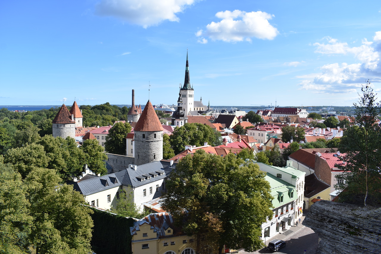 One Day in the Great Medieval City of Tallinn, Estoniain Photos -