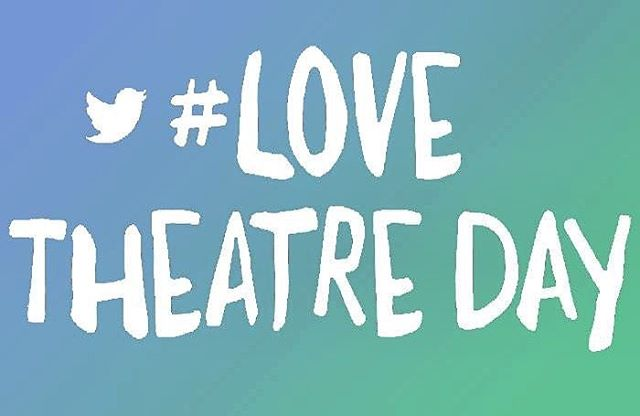 It's #lovetheatre day! We've been lucky to be part of so many amazing teams creating theatre this year. Thank you to everyone we've had the chance to work alongside so far!  We look forward to another year of doing what we love! 💙