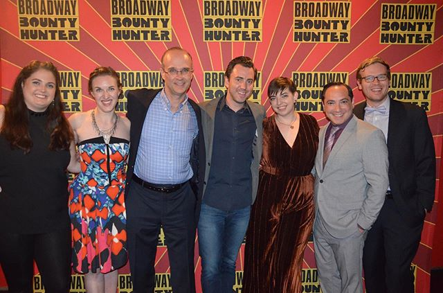 We had such a blast at the @bwaybounty opening this week 👊💥 Congrats to everyone who has brought this clever, original show to life! . . . #broadwaybountyhunter #ImaBountyHunter #theater #offbroadway #offbway #nyc