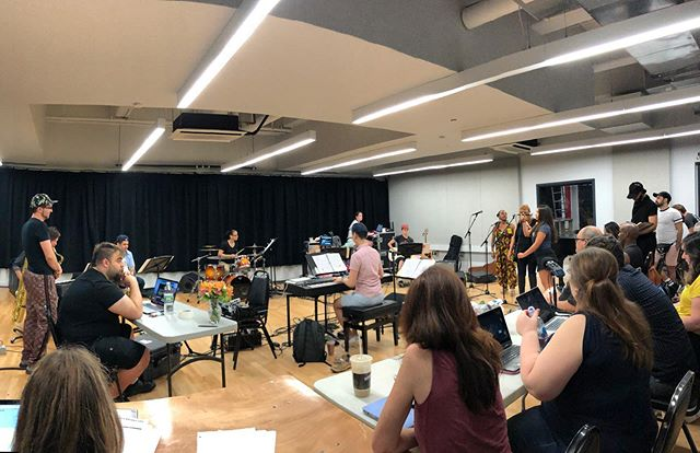 We ❤️ a sitzprobe! @bwaybounty is heating up, and we can't wait for previews to begin on July 9 🔥. . . . #nyc #theater #offbroadway #offbway #broadwaybountyhunter #musical