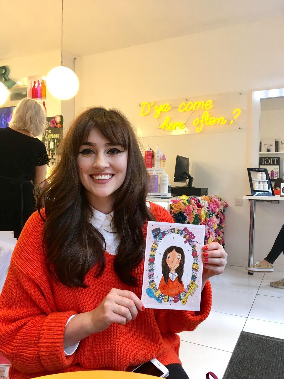 Pop Up Portraits Claire Barclay