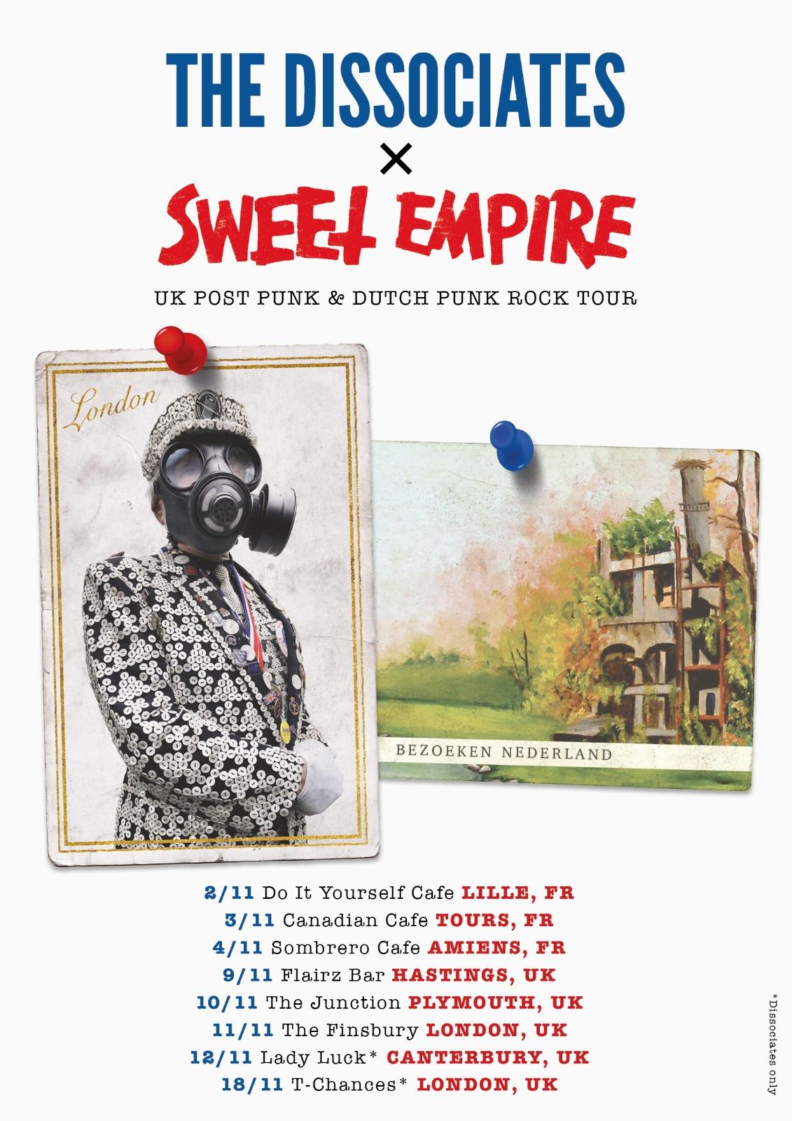 Dissociates Tour Dates